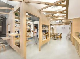 Дизайн магазина десертов в Сингапуре