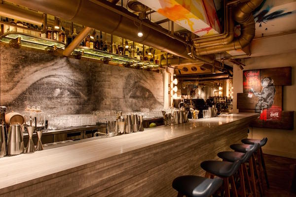Дизайн ресторана в стиле поп-арт