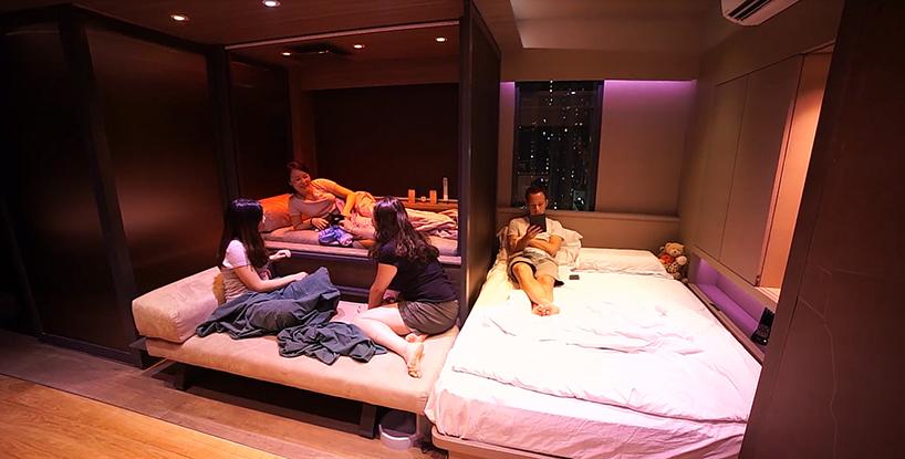 Умная квартира в Гонконге