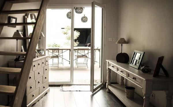 Интересное сочетание стилей в французском особняке