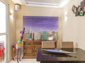 Бразильский колорит в современной квартире, Сан-Паулу