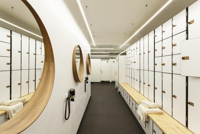 Дизайн интерьера йога-центра в Барселоне