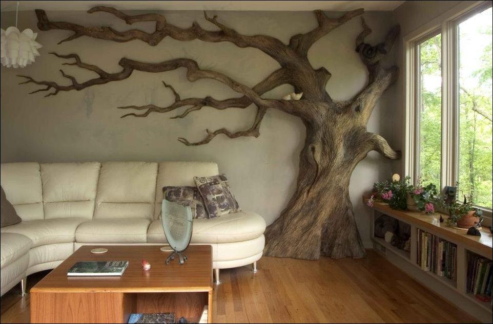 Фото интерьер из дерева
