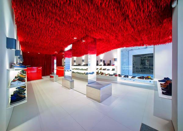 Дизайн интерьера магазина фото