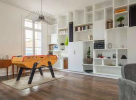 Современный интерьер квартиры в Монпелье