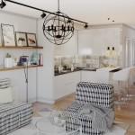 Уникальный интерьер можно создать даже в небольшой квартире